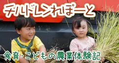チルドレンれぽーと・食育・こどもの農業体験記